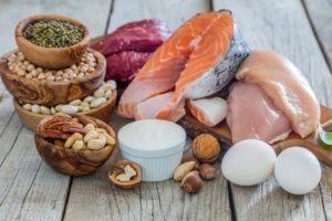 fats and proteins food image