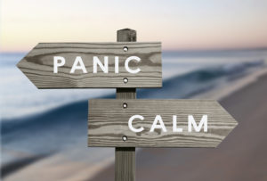 panic vs calm image