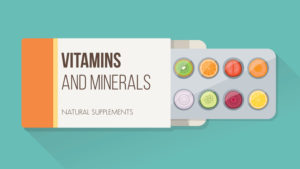vitamins and minerals image